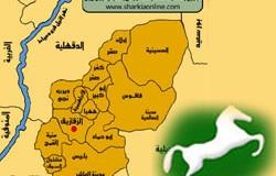 خريطة الشرقيه