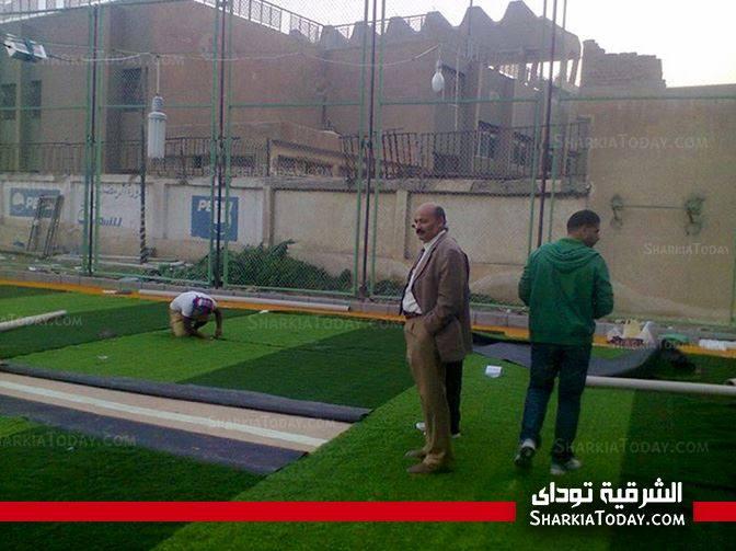 الدكتور حمدى مرزوق رئيس نادى الشرقية