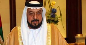 الشيخ خليفة بن زايد آل نهيان رئيس الإمارات