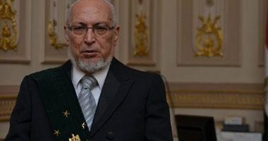 المستشار حامد عبد الله رئيس مجلس القضاء الأعلى