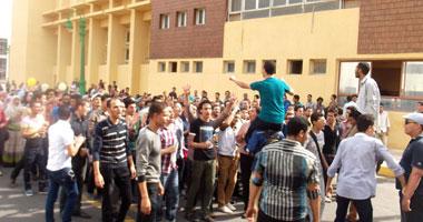 مظاهرة لطلاب الإخوان بجامعة الزقازيق للتنديد بقانون التظاهر