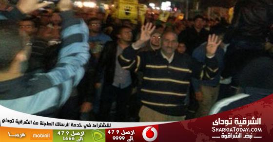 اشتباكات عنيفة بين الأهالى والإخوان بمركز ديرب نجم بالشرقية