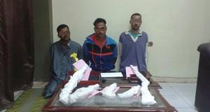 ضبط 3 عاطلين بتهمة تصنيع الأسلحة النارية وآخرين بحوزتهما 500 جرام هيرون بمينا القمح