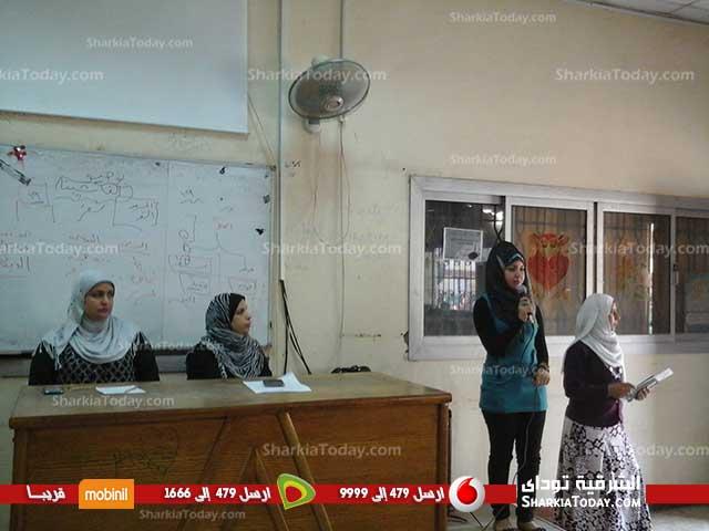 إنطلاق مسابقة مبدعي الشعر العربي بكلية التربية النوعية بالزقازيق (3)