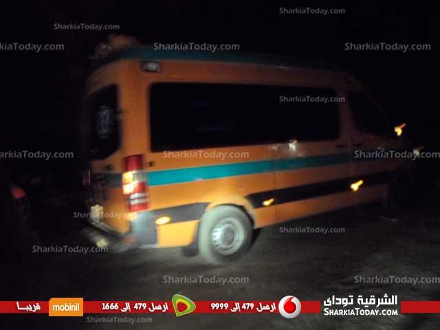 حريق هائل بمبنى بجوار مستشفى الصدر بأبوحماد (3)