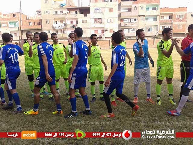 ديرب نجم يفوز على منيا القمح بثلاثية نظيفة في دورى مراكز الشباب بالشرقية (2)