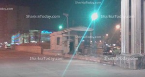 نقطة تفتيش مرور تحولت إلي مكان مهجور بمدينة ديرب نجم  (2)