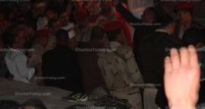 تشييع جنازة الرائد «هشام عبد العال الباط» بمدينة فاقوس