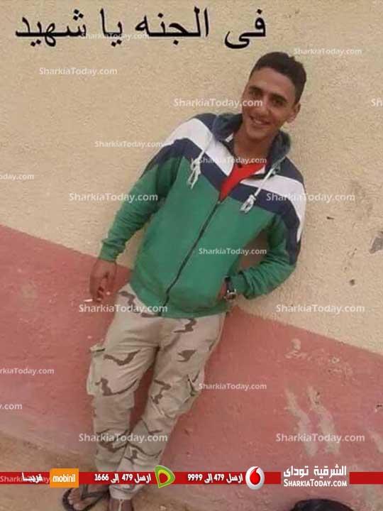 ننشر صور شهيد حادث تفجيرات سيناء «أحمد عدوى» ابن مدينة بلبيس (2)