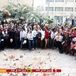 شاهد | طلاب طب الزقازيق يحتفلون بتخرجهم من الكلية بـ«تكسير القُلل»