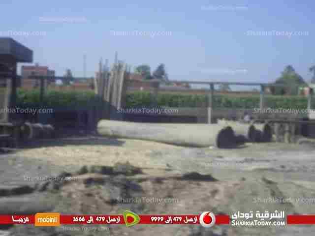 إستمرار-أعمال-إنشاء-محطة-الصرف-الصحي-بقرية-النخاس-بالزقازيق