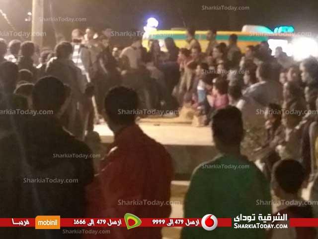جنازة الشهيد ملازم «أحمد بلال» من مدينة فاقوس  (1)