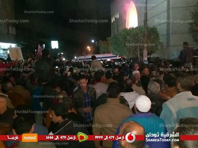 جنازة الشهيد ملازم «أحمد بلال» من مدينة فاقوس  (2)