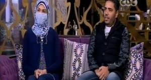 رضا سعيد زوج تبرع لزوجته بجزء من كبده لزوجته