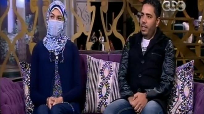 شاهد | زوج مصرى يتبرع لزوجته بجزء من كبده لإنقاذها من موت محقق