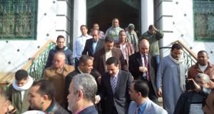 محافظ الشرقية في زيارة مفاجئة لمستشفي أبو حماد (5)