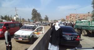 محافظ الشرقية يسحب 9رخص لسيارات تسبب إرتباك مروري خلال توجهه لأبوحماد (1)