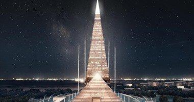 البرج المخطط تنفيذه