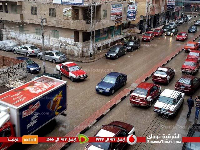 أمطار علي مراكز محافظة الشرقية (1)