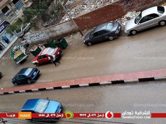 أمطار علي مراكز محافظة الشرقية (3)