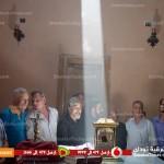بالفيديو | ظاهرة غريبة فى كنيسة تاريخية بمركز منيا القمح