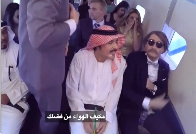 عبد الله بالخير يظهر بهدوء أعصاب و ابتسامة في رامز واكل الجو
