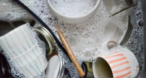غسل الأطباق وأدوات المطبخ