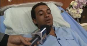 أحد مصابي أحداث سيناء