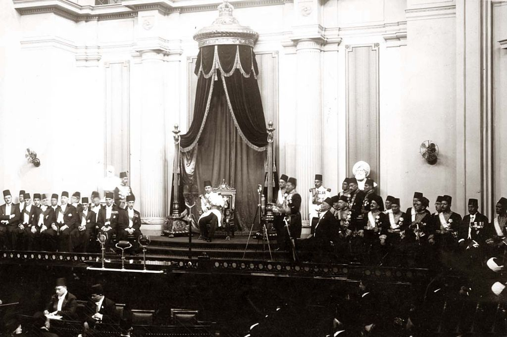 1024px-ModernEgypt,_Farouk_I_in_Parliament,_DHP13655-13-13_01