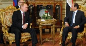 السيسي في زيارة روسيا
