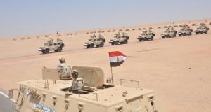 القوات المسلحة تأمن قناة السويس الجديدة (8)
