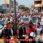 محافظ الشرقية فى مسيرة اليوم : لم أرى هذا الحشد الكبير إلا فى الثورات