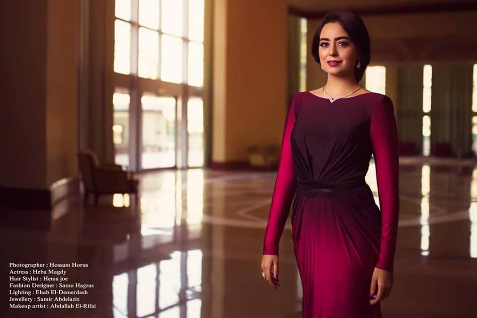 هبة مجدي بلوك أنثوي في جلسة تصوير جديدة  (2)