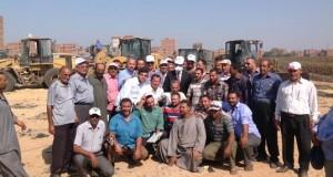 حفل تكريم لجميع المشاركين فى رفع تلال القمامة بمقلب منيا القمح (7)
