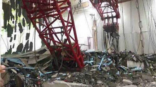 مقتل 65 وإصابة العشرات إثر سقوط رافعة في الحرم في مكة