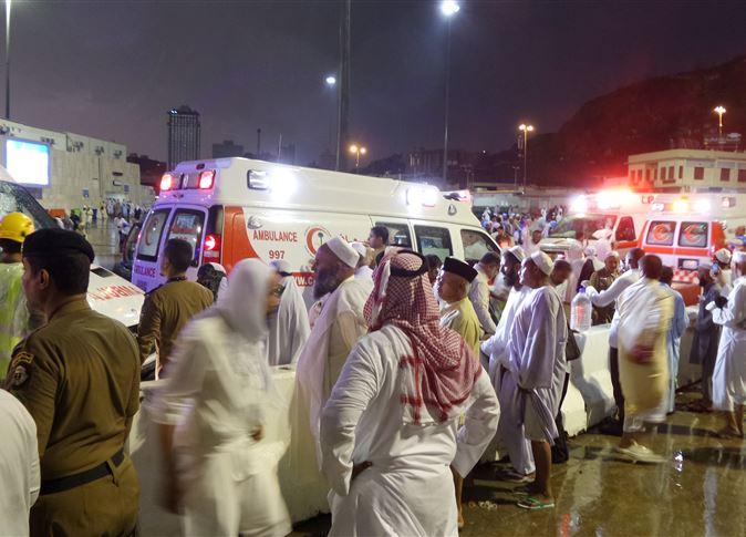 وزارة الصحة تعلن عدد المصابين المصريين في حادث رافعة الحرم المكي