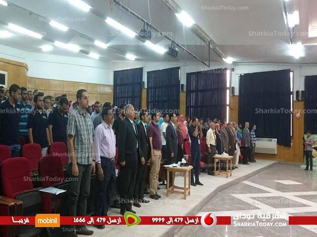 جمعية أصدقاء مدينة زويل بالشرقية تعقد مؤتمرا شبابيا بجامعة الزقازيق (4)