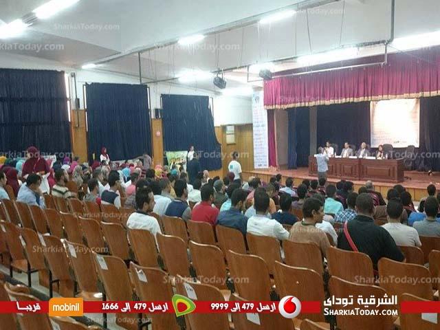 جمعية أصدقاء مدينة زويل بالشرقية تعقد مؤتمرا شبابيا بجامعة الزقازيق (6)