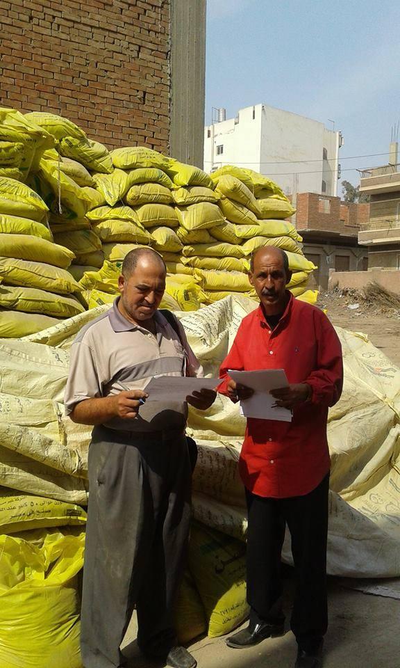 ضبط شونة ومخزن أسمدة وأعلاف يعملان دون الحصول على ترخيص من وزارة الزارعة (2)