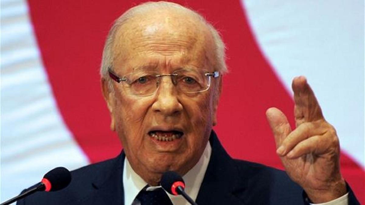 الرئيس التونسي  فرض حالة الطوارئ 30 يوما