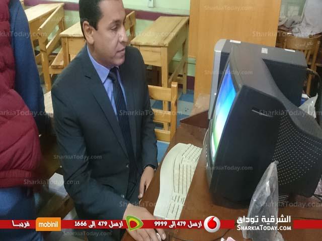 محافظ الشرقية يتفقد مدرسة الشهيد صلاح سليم بقرية بني عامر بالزقازيق (1)