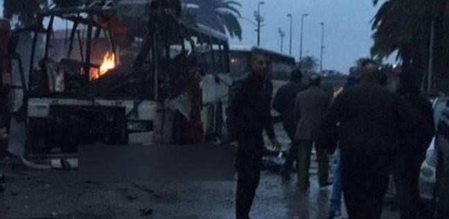 استشهاد 22 شهيداََ فى انفجار حافلة للحرس الجمهوري بتونس