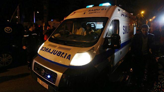 انفجار يستهدف حافلة للحرس الرئاسي وسط العاصمة التونسية