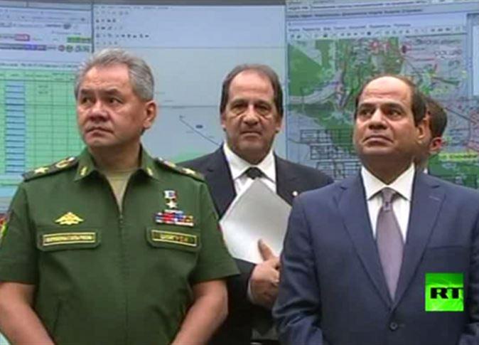 «سبوتنك».. وزير الدفاع الروسي أمام السيسي: «داعش» أسقطت الطائرة في سيناء