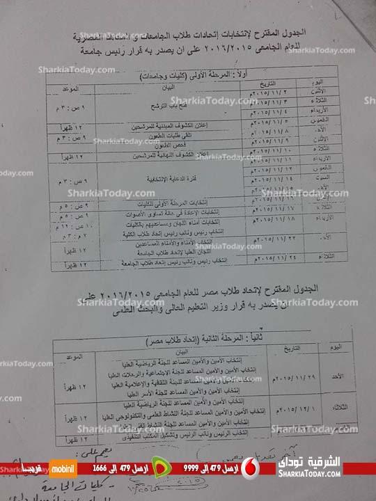 789 طالب يتقدم للترشح لانتخابات الاتحاد بجامعة الزقازيق (2)