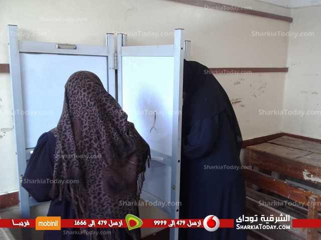 8في يوم إسدال الستار على جولة الإعادة.. عزوف انتخابي بدائرة كفر صقر (13)