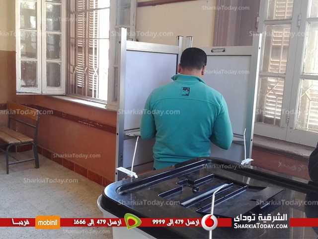 8في يوم إسدال الستار على جولة الإعادة.. عزوف انتخابي بدائرة كفر صقر (14)