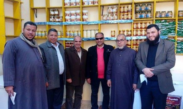 إفتتاح مجموعة من سلاسل مجمعات الخدمات للمواد الغذائية بكفر صقر