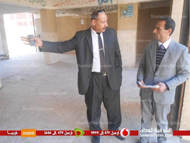 جولة ميدانية لمدير تعليم بلبيس على مدارس أولاد سيف (2)