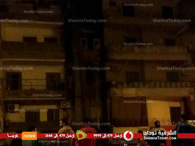 حريق هائل بمطعم أبو شنب بالزقازيق 2